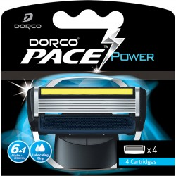 Dorco Pace6 Power rakblad 4-pack