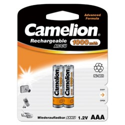 Camelion 2st batterier AAA NiMH 1000mAh laddningsbara laddningsbart